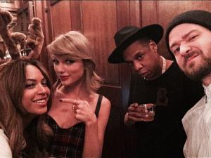Miss Swift raduna i 2/3 del PIL degli USA a casa sua con la scusa del compleanno, offre loro da bere e li recluta nella squadra. Beyoncé è la prima a cedere (all'alcool e alla proposta d Taylor), Jay Z è indeciso ma segue la moglie perché dopotutto who run the world? GIRLS. Justin è poco convinto ma alla fine si fida dei suoi amici perché anche loro hanno vinto più di un Grammy quindi ok