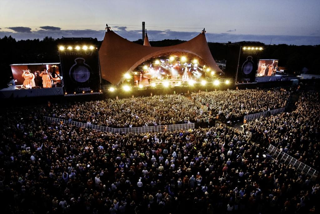 Roskilde Festival 07 - (77th0720) - Orange Stage - Basement Jaxx - 08.07.2007 - Photo by: Thorbjørn Hansen/ROCKPHOTO