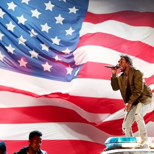 LOS ANGELES, CA - JUNE 28: Recording artist Kendrick Lamar performs onstage during the 2015 BET Awards at the Microsoft Theater on June 28, 2015 in Los Angeles, California. (Photo by Christopher Polk/BET/Getty Images for BET)